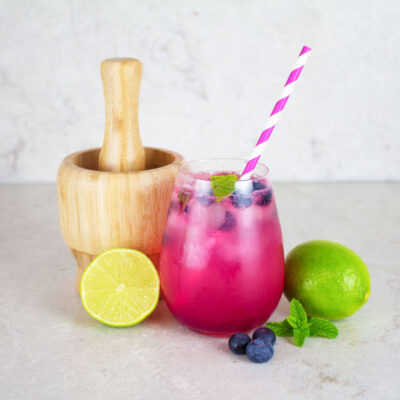 blueberry mocktail recipe