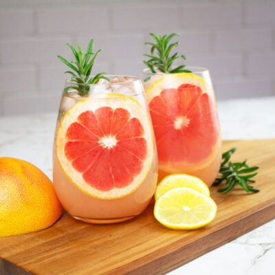 grapefruit mocktail rosemary