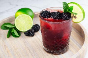 easy mocktail recipe blackberry