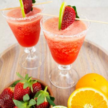 virgin strawberry daiquiri