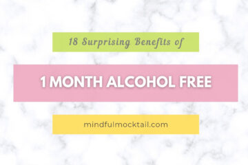 1 month alcohol free benefits