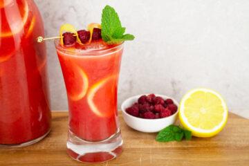 raspberry lemonade easy