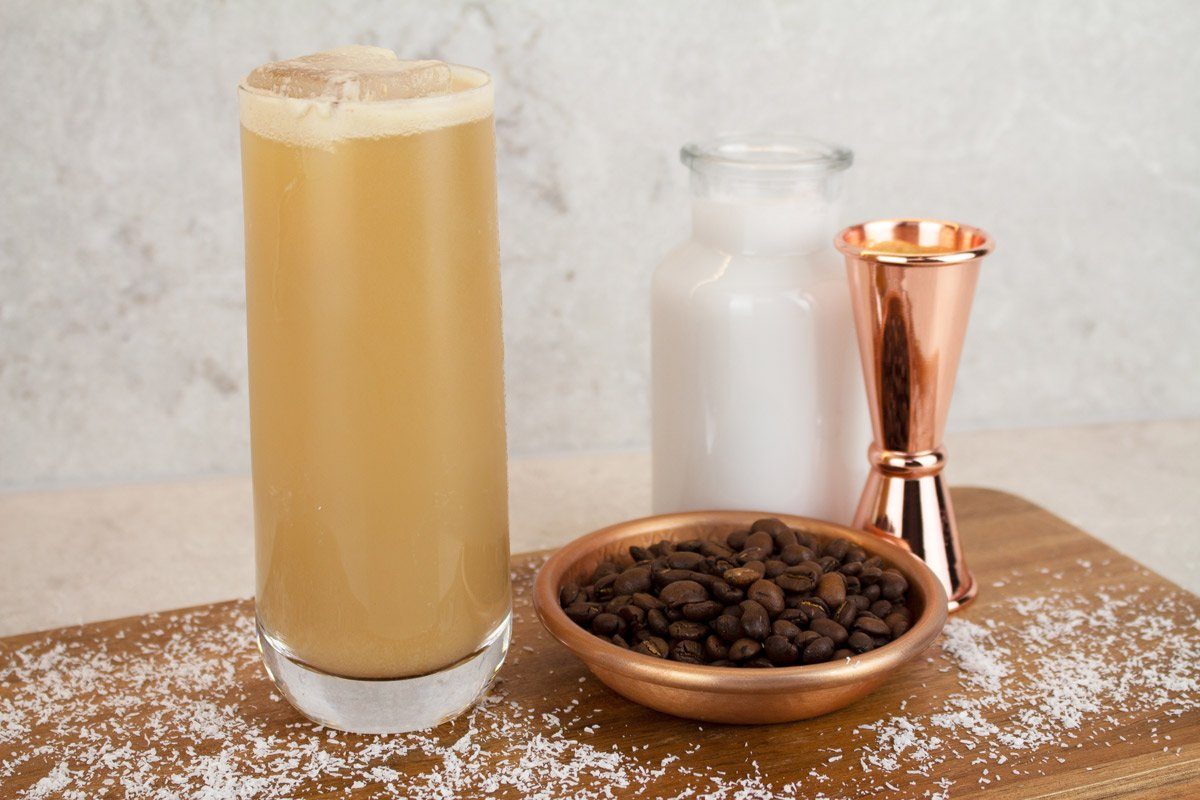 Virgin Baileys Mocktail ingredients