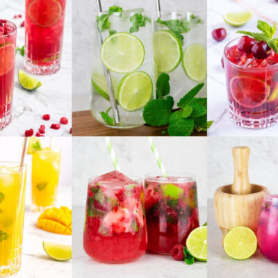 easy virgin mojito mocktail recipes to make at home